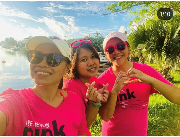 ibelieveinPINK2020 walkers