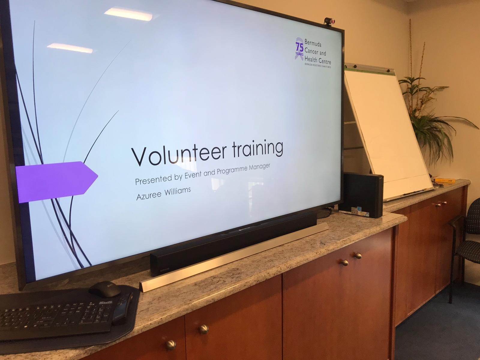 Volunteer Training Session